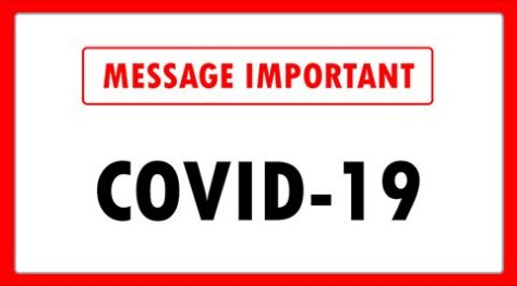 Message important – Covid-19